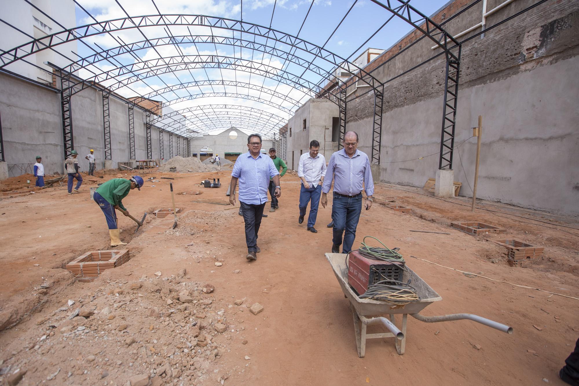 Obras de infraestrutura no Cariri