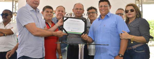 O secretário Nelson Martins, da Casa Civil, representou o governador Camilo Santana no evento de inauguração de seis sistemas de abastecimento d´água.