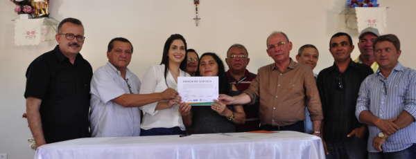 Icó: Comunidade Mulungu recebe ordem de serviço para abastecimento d´água