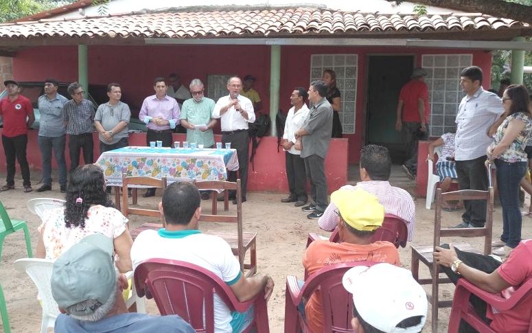 Em Amontada, 168 famílias recebem o benefício dos sistemas de abastecimento d´água