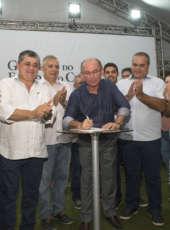 População de Icapuí é contemplada com ginásio multiuso nesta quinta- feira (3)