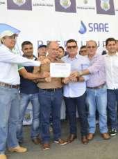 Morada Nova: Governo entrega adutoras e garante água tratada a cinco comunidades da zona rural